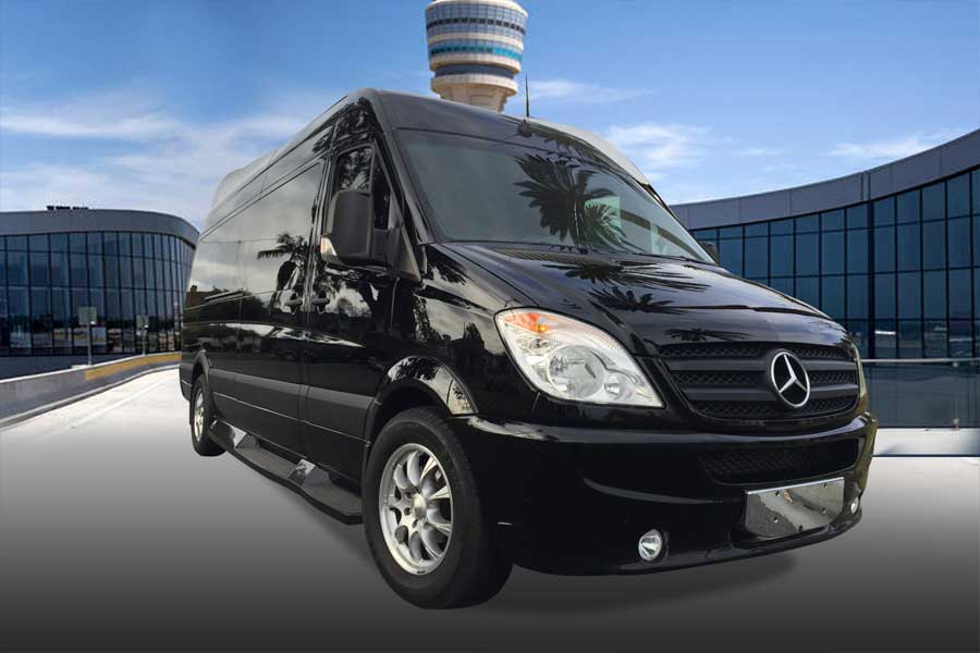 Airport Transportation Private Party Bus or Shuttle