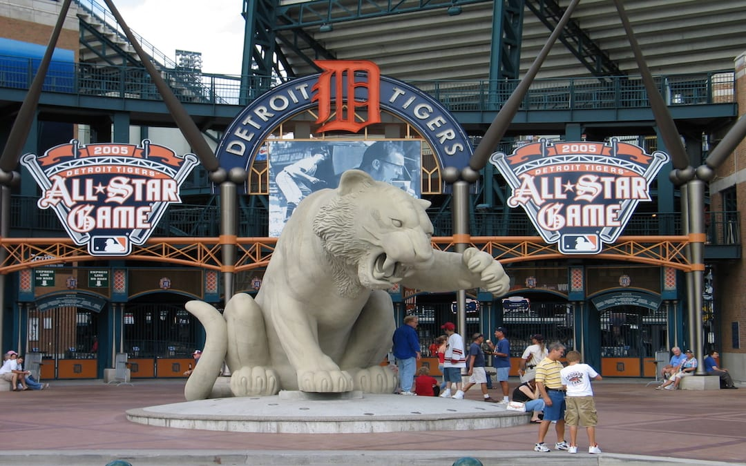 Detroit Tigers Party Bus Rentals for a Winning Game!
