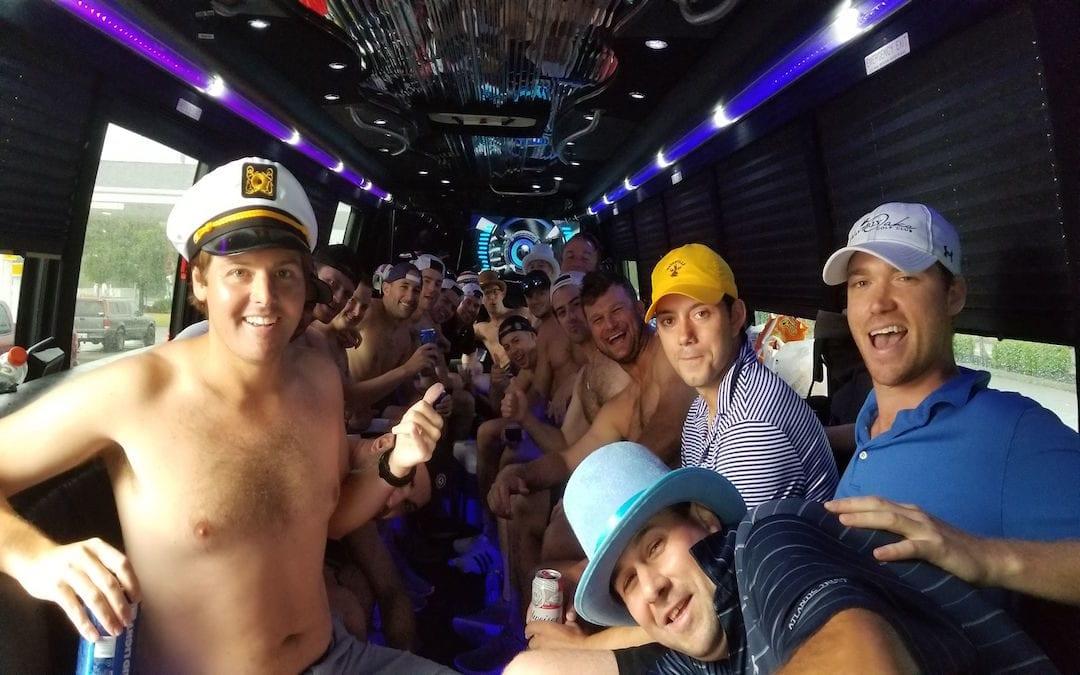 bachelor bachelorette party bus rentals near me